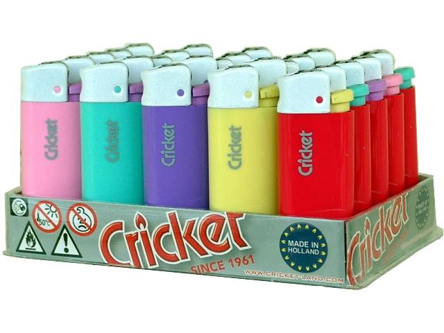 Κουτί με 25 αναπτήρες Cricket Pastel Mini White Cup 22125117
