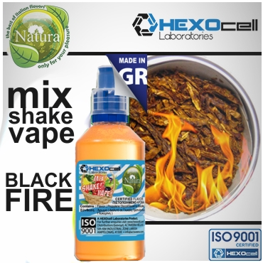 4992 - NATURA MIX SHAKE VAPE BLACK FIRE 30/60ML (καπνικό)