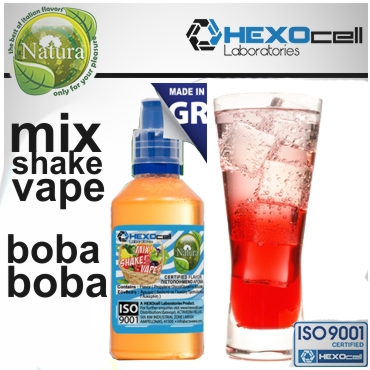 4993 - NATURA MIX SHAKE VAPE bOba bOba 30/60ML (γλυκό αναψυκτικό)