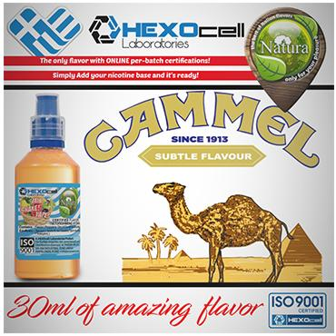 NATURA MIX SHAKE VAPE CAMMTEL 30/100ML (καπνικό camel)