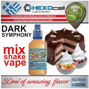 5002 - NATURA MIX SHAKE VAPE DARK SYMPHONY 30/60ML (κρεμώδη και φρουτένια γεύση)