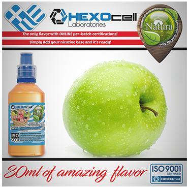 5012 - NATURA MIX SHAKE VAPE GREEN APPLE 30/100ML (πράσινο μήλο)