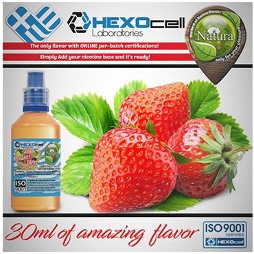 NATURA MIX SHAKE VAPE STRAWBERRY 30/100ML (φράουλα)