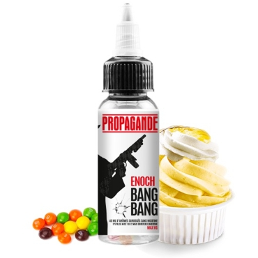 5053 - PROPAGANDE VAPORS ENOCH BOOSTED 40/60ml (κρέμα custard και ζαχαρωτά)