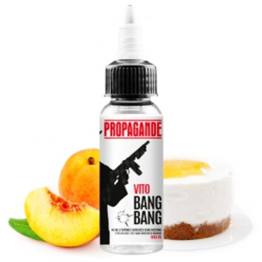 5077 - PROPAGANDE VAPORS VITO BOOSTED 40/60ml (cheesecake ροδάκινο)