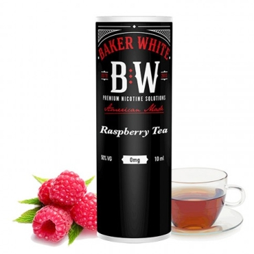 Baker White Raspberry Tea 10ml (Black) (τσάι με βατόμουρο)