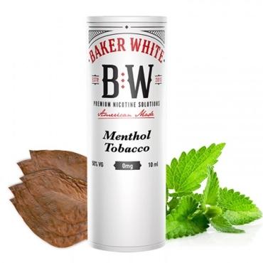 5106 - Baker White Menthol Tobacco 10ml (White) (καπνικό με μέντα)