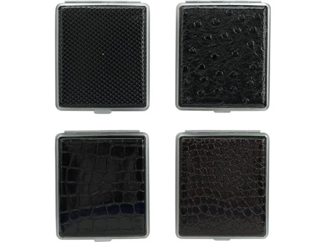 5177 - Ταμπακιέρα AT-Zig-Etui Black/skin για 18 τσιγάρα 0410400