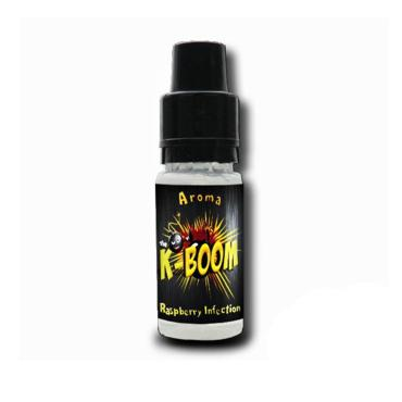 5183 - Άρωμα K-boom flavour RASPBERRY INFECTION 10ml (βατόμουρο)