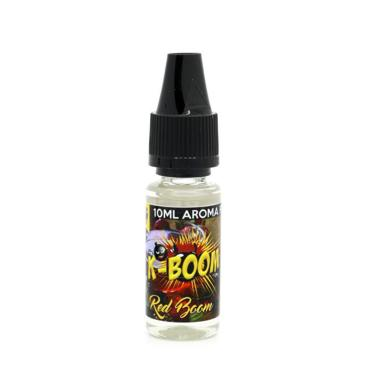 5185 - Άρωμα K-boom flavour RED BOOM 10ml (κόκκινα φρούτα,μέντα,γλυκάνισος & ευκάλυπτος)