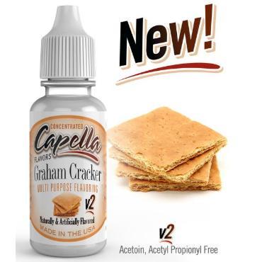 Άρωμα Capella Graham Cracker V2 Flavor Concentrate 13ml (κανέλα μπισκότο)