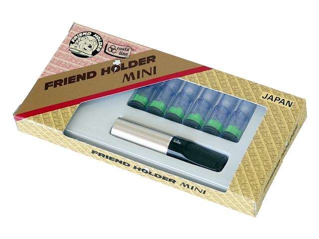 Πίπα για κανονικό τσιγάρο FRIEND HOLDER MINI 8mm (made in Japan) 310 ασημί