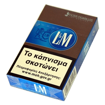 5247 - Cigarillos L&M BLUE LABEL Filter 12