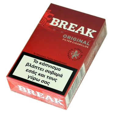 5249 - Cigarillos BREAK ORIGINAL Filter 17 (κόκκινο)