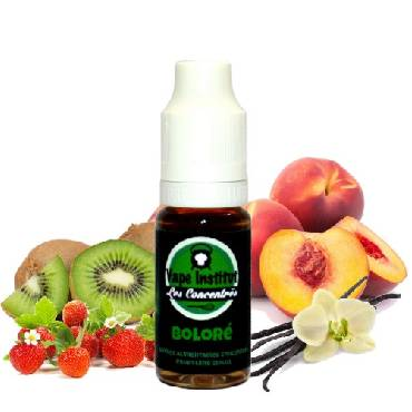 Άρωμα Vape Institut Bolore 10ml (κρέμα βανίλια με φράουλα,ροδάκινο & ακτινίδιο)