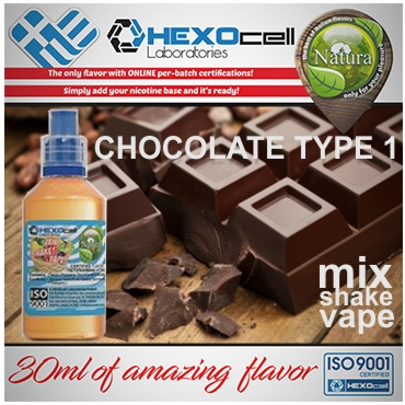 NATURA MIX SHAKE VAPE CHOCOLATE TYPE 1 30/100ML (σοκολάτα)