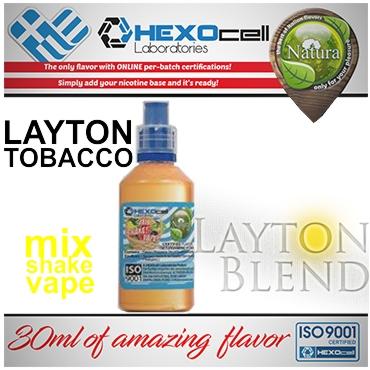 NATURA MIX SHAKE VAPE LAYTON TOBACCO 30/60ML (καπνικό)