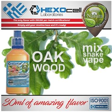 NATURA MIX SHAKE VAPE OAK WOOD 30/60ML (ξυλώδης καπνική γεύση)