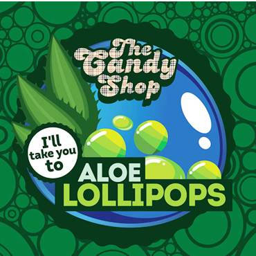 5375 - Άρωμα BIG MOUTH LIQUIDS ALOE LOLLIPOPS THE CANDY SHOP 10ml (αλόη βέρα)