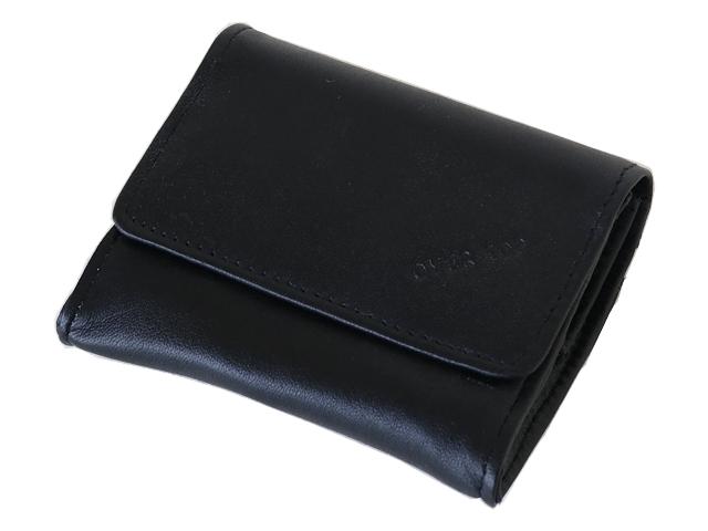5413 - Καπνοθήκη από γνήσιο δέρμα Over Top 10033 ZM BLACK (μικρό - μεσαίο - πουγκί)