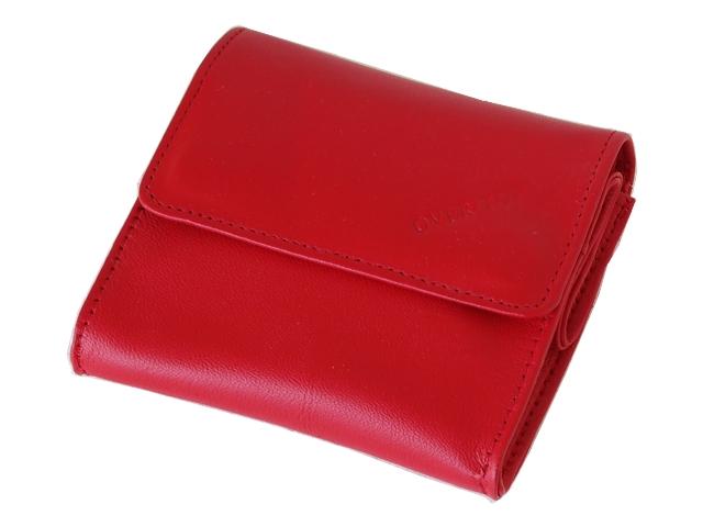 5415 - Καπνοθήκη από γνήσιο δέρμα Over Top 10033 ZM RED (μικρό - μεσαίο - πουγκί)
