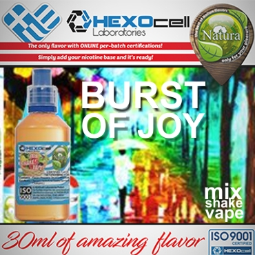 NATURA MIX SHAKE VAPE BURST OF JOY 30/60ML (βότανα & άνθη δάσους)