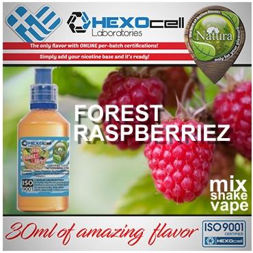 5430 - NATURA MIX SHAKE VAPE FOREST RASPBERRIEZ 30/100ML (βατόμουρα & φρούτα δάσους)