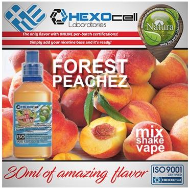 5433 - NATURA MIX SHAKE VAPE FOREST PEACHEZ 30/60ML (ροδάκινο και φρούτα δάσους)