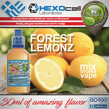 NATURA MIX SHAKE VAPE FOREST LEMONZ 30/60ML (φυσικός χυμός λεμονιού)