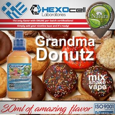 5437 - NATURA MIX SHAKE VAPE Grandma Donutz 30/60ML (ντόνατ)