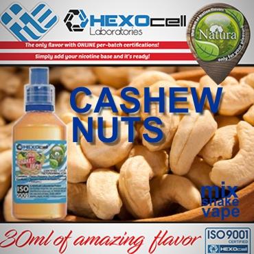 NATURA MIX SHAKE VAPE CASHEW NUTS 30/60ML (καπνική γεύση κάσιους)