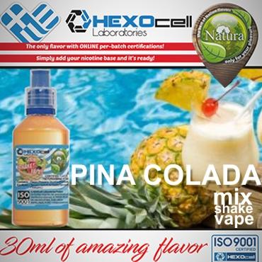 NATURA MIX SHAKE VAPE PINA COLADA 30/60ML (κοκτέιλ)