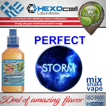 NATURA MIX SHAKE VAPE PERFECT STORM 30/60ML (καπνικό)