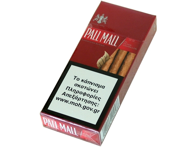Cigarillos PALL MALL RED 10 XL FILTER (κόκκινο)