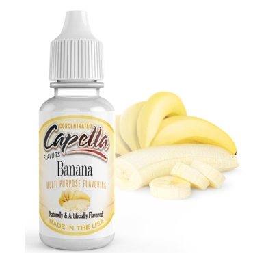5538 - Άρωμα Capella Banana Flavor Concentrate 13ml (μπανάνα)