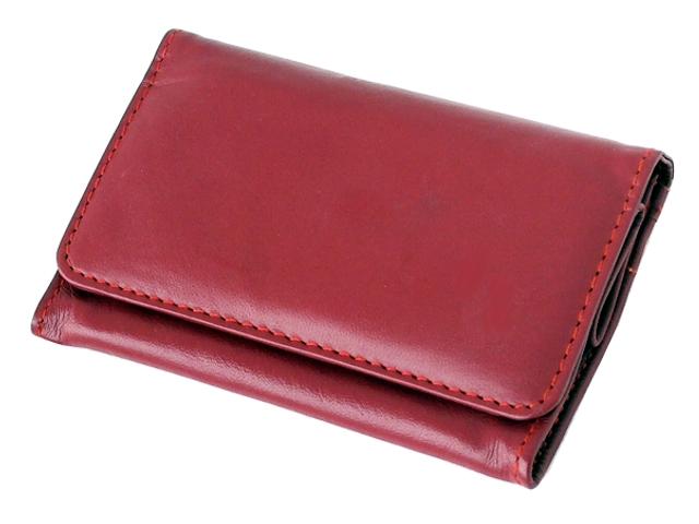 5570 - Καπνοσακούλα Rolling 44411-165 από γνήσιο δέρμα (κόκκινο μεσαίο πουγκί) δερμάτινη