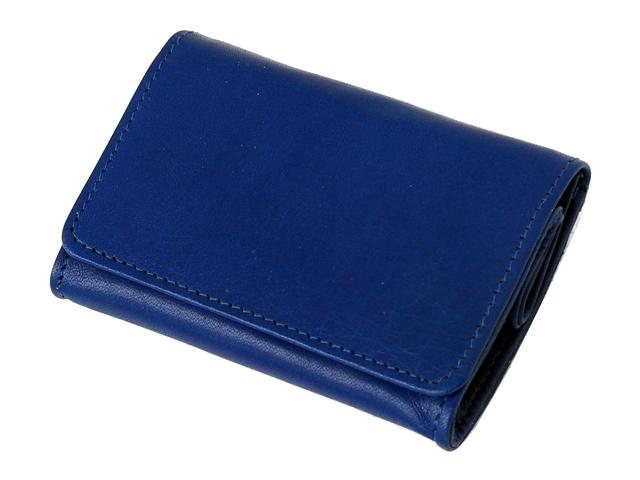 5571 - Καπνοσακούλα Rolling 44410-120 από γνήσιο δέρμα (μπλε μικρό πουγκί)