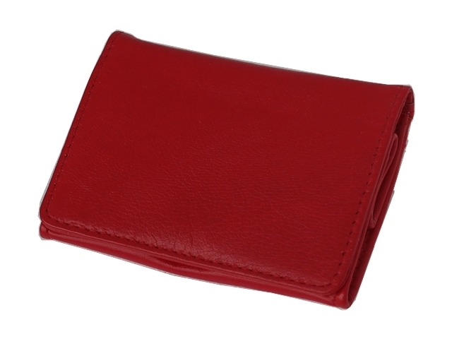 5572 - Καπνοσακούλα Rolling 44410-160 από γνήσιο δέρμα (σκούρο κόκκινο μικρό πουγκί) δερμάτινη