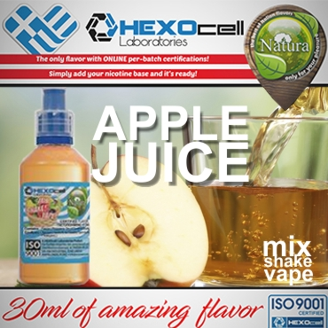 5599 - NATURA MIX SHAKE VAPE APPLE JUICE 30/60ML (χυμός μήλου)