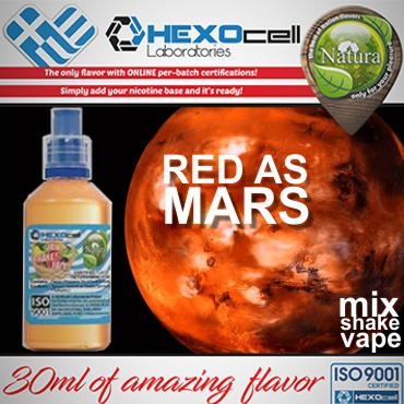 5603 - NATURA MIX SHAKE VAPE RED AS MARS 30/60ML (σταφύλια, μούρα, γλυκάνισος, μέντα)