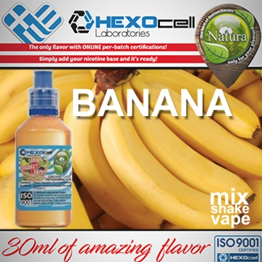 NATURA MIX SHAKE VAPE BANANA 30/100ML (μπανάνα)