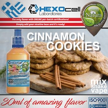 NATURA MIX SHAKE VAPE CINNAMON COOKIES 30/100ML (κανέλα μπισκότο)