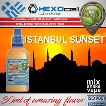 NATURA MIX SHAKE VAPE ISTANBUL SUNSET 30/60ML (καπνικό μπασμάς)