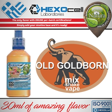5613 - NATURA MIX SHAKE VAPE OLD GOLDBORN 30/100ML (καπνικό)