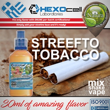 NATURA MIX SHAKE VAPE STREEFTO TOBACCO 30/60ML (καπνικό)