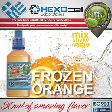 NATURA MIX SHAKE VAPE FROZEN ORANGE 30/60ML (πορτοκάλι με μέντα)