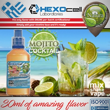 NATURA MIX SHAKE VAPE MOJITO COCKTAIL 30/60ML (κοκτέιλ μοχίτο)
