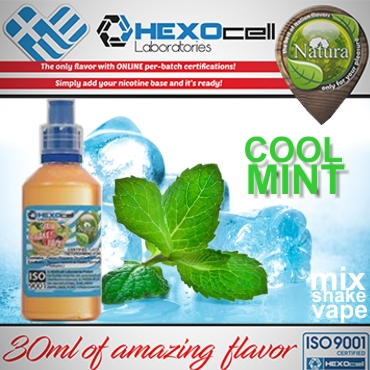 NATURA MIX SHAKE VAPE COOL MINT 30/100ML (μέντα)