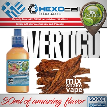 NATURA MIX SHAKE VAPE VERTIGO 30/60ML (καπνικό)