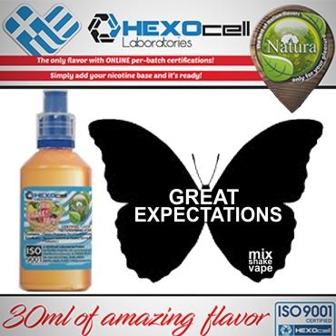 NATURA MIX SHAKE VAPE GREAT EXPECTATIONS 30/60ML (γλυκιά μέντα)